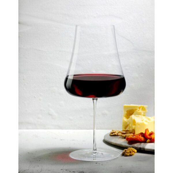 copa vino tinto Etna detalle