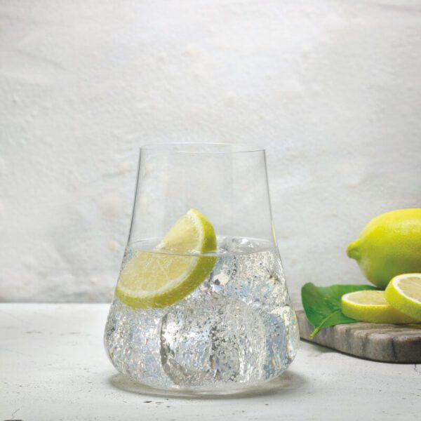 vaso agua Etna detalle